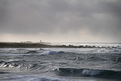 Tangen (JarleR) Tags: sea lighthouse beach norway canon landscape coast waves 7d fyr jren refsnes htangen