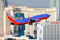 Southwest Airlines | Boeing 737-700 | N7730A | Las Vegas McCarran (Dennis HKG) Tags: las southwest plane canon airplane airport lasvegas aircraft 1d boeing klas 737 southwestairlines planespotting wn swa boeing737 737700 100400 boeing737700 n7730a