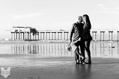 (RachelBrandtPhotography) Tags: family blackandwhite beach pier kiss sandiego daughter mother wife sandiegophotography sandiegofamilyphotography sandiegofamilyphotographer rachelbrandtphotography