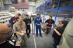 Astronaut Doug Wheelock telling us about Soyuz