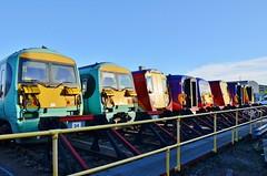 Today at Wimbledon.... (stavioni) Tags: west train south rail railway trains multiple emu unit swt electic class458 class455 class456