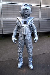 Cyberman at The National Space Centre (masimage) Tags: robot costume jeep cosplay leicester science telos event doctorwho bbc scifi british dalek tardis cyberman k9 unit nsc nationalspacecentre cyberus timelords mondas cyberleader cybus judoon scienceofthetimelords timelrd