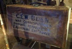 WW1 Charles Bean's Suitcase, Australian War Memorial (Stuart Curry) Tags: galleries worldwarone canberra ww1 warmemorial 19141918