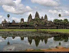 Angkor Wat, Cambodia (JH_1982) Tags: world lake reflection building heritage architecture reflections religious temple site cambodge cambodia kambodscha king khmer buddhist religion kingdom buddhism landmark historic unesco vat spiritual angkor wat spiegelung cambodja  camboya  kampuchea camboja  cambogia prasat suryavarman     nokor yasodharapura   yaodharapura