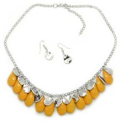 Sunset Sightings Yellow Necklace P2910A-2