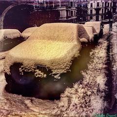 Snow Frogner Oslo (C.Bry@nt) Tags: auto street snow apple car oslo norway norge calle gate nieve norwegian bil gata noruega nordic frogner akershus scandinavian iphone norsk norske skandinavia