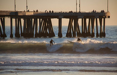 Venice Beach, CA (ChrisGoldNY) Tags: california venice sunset beach book pier losangeles surf waves forsale santamonica surfer wave surfing albumcover catch surfers bookcover bookcovers goldenhour albumcovers licensing covers chrisgoldny chrisgoldberg chrisgold chrisgoldphoto chrisgoldphotos