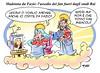 """Madonna da Fazio (Moise-Creativo Galattico) Tags: madonna fabio vignette satira attualità moise giornalismo ciccone fazio rai3 editoriali moiseditoriali """"editorialiafumetti"""""""