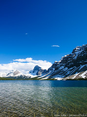 Bow Lake (Jeroenolthof.nl) Tags: road lake snow canada mountains ice landscape drive jeroen scenery jasper scenic columbia alberta parkway bow banff icefields icefield olthof jeroenolthofnl