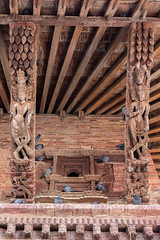 180A5828 (joepar64) Tags: wood nepal pigeons kathmandu durbar kamasutra carvings basantapur