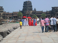 Angkor Wat Wedding Party