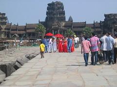 Angkor Wat Wedding Party