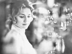 """Voile de Parfum"" (helmet13) Tags: leicaxvario bw windowshopping woman beauty windowreflection poster aoi heartaward peaceaward 100faves world100f bestportraitsaoi perfumeshop"