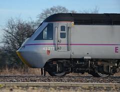 43277 1Y82 York - Kings Cross passes Werrington 20.01.2015 (pokeyphoto) Tags: eastcoast hst werrington class43 43277