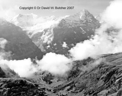 Eiger from near First (Dave Butcher Photography) Tags: blackandwhite clouds photograph grindelwald eiger jungfrau fineartphotography davidbutcher 4000metrepeak davebutcher