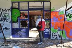 Αλάσκα (Eleanna Kounoupa) Tags: street colors graffiti ruins greece ελλάδα kifissia γκράφιτι χρώματα δρόμου κηφισιά ερείπια stphotographia αλάσκα