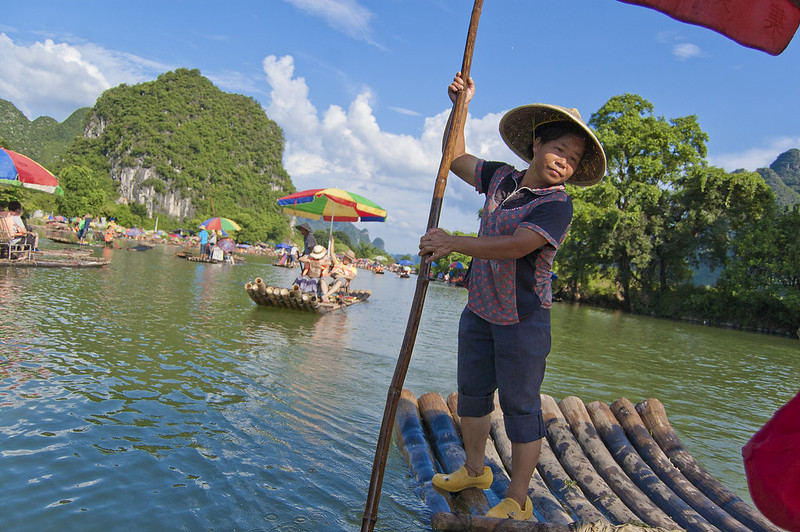 "Chinese gondolier<a href=""http://www.flickr.com/photos/28211982@N07/16349914079/"" target=""_blank"">View on Flickr</a>"