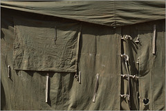 laces (nevil zaveri) Tags: camp india green window wall army photography blog workers photographer photos tie images tent photographs photograph cloths ncc zaveri gujarat doorsandwindows stockimages nau gujrat nevil eru navsari nevilzaveri