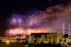 Australia Day Fireworks (KhanSaqib) Tags: fireworks australia melbourne victoria docklands australiaday