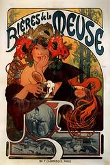 """Publicité pour """"Les Bières de la Meuse"""" en 1897. (Static Phil) Tags: publicité vintageadvertising 1897 lesbièresdelameuse"""