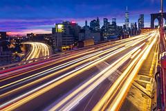 Sunset over the Brooklyn Bridge (Arutemu) Tags: america american americain urban usa us night nighttime nightscape nyc ny newyork nightshot nuevayork newyorkcity brooklyn brooklynbridge city cityscape canon ciudad citylights sunset sundown twilight nightfall eos6d 24105 traffic lights アメリカ 米国 美国 ニューヨーク ニューヨーク市 ブルックリン橋 ブルックリン マンハッタン 都市景観 都市 都市の景観 都会 街並び 街道 往来 高速道 光 黄昏 夜 夜景 光景 風景 景気 町 曼哈頓