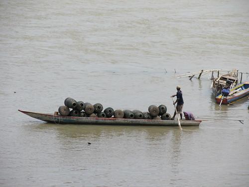 Pêche aux paniers, Cambodge