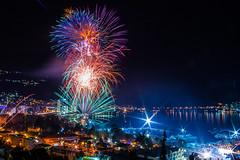 Fireworks in Budva, Montenegro (Ferdo Strgar) Tags: night fireworks montenegro budva dopustbudvanovoleto