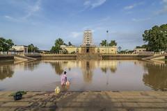 kovil kulam (Balasubramani Murali) Tags: water temple pond ngc tamilnadu kulam kovil cwc travelphotography kanadukathan aathangudi chennaiweekendclickers