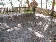 Mass Grave Site at Choeung Ek Phnom Penh