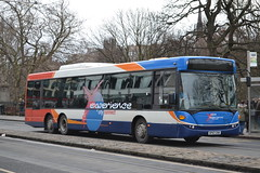 Stagecoach Fife 24008 SP57CNV (Will Swain) Tags: street city uk travel england bus buses scotland edinburgh princess fife britain centre capital transport february stagecoach 28th 2015 24008 sp57cnv
