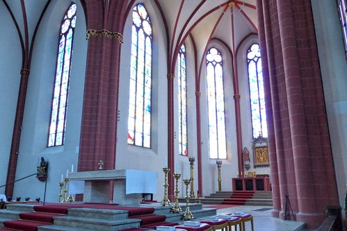 Chagallfenster, Stephanskirche Mainz