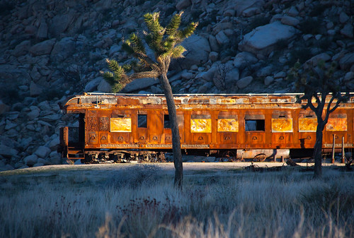 Train - Yucca Valley, CA