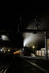 Time to Go (gooey_lewy) Tags: black london night dark scotland photo shoot britain north railway battle photographic valley darlington british locomotive society eastern railways 440 atmospheric nene charter lined morayshire cambs wansford gresley bbls 62712