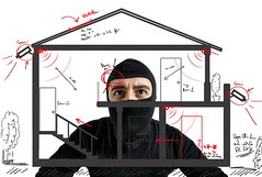 Thief apartment (sahinurmicro) Tags: italy house plant man alarm home danger dark person sketch unsafe force risk apartment lock steel surveillance bank security safety criminal crime spy thief illegal damage secure safe masked robbery bandit villain theft protection balaclava insurance burglary steal stealing sensor draft breaking burglar intruder robber crowbar housebreaker unlocked mugger unlawful housebreaking