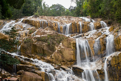 Panching Waterfall, Kuantan (sydbad) Tags: waterfall long exposure f14 sony sigma mm alpha 35 kuantan dg hsm panching sonya7