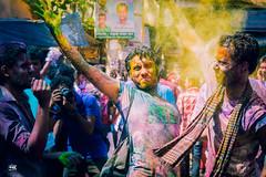 2 - Holi Festival 2015_Bangladesh (C.C.Kubi) Tags: people colors beauty festival festive fun happy nikon colorful asia outdoor celebration holy enjoy dhaka hindu hinduism holi groupshot bangladesh 2015 cck  festivalofcolors shakharibazar nikond5200 cckubi cckthestranger holifestival2015