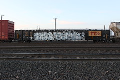 CB4 ZEMEK (TrackSideLife) Tags: train graffiti freight omt cb4 upsk zemek