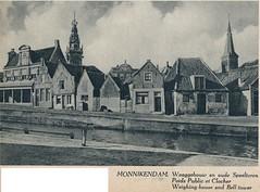 Mooi Holland, j 30  Monnickendam  Waag en omgeving (janwillemsen) Tags: monnickendam photobooknederland1940ies
