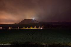 "Coming soon: ""Closer to the matter"" (Markus Lehr) Tags: longexposure nightshot lightpollution carheadlights manmadelandscape manmademountain markuslehr"