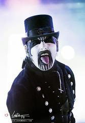Kind Diamond (fergarlaura) Tags: king diamond kim bendix petersen heavy metal rockfest rock fest barcelona 2016 portrait tongue black nikon color 70200 28 d600 d610 concert