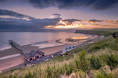 Saltburn Sunrise (In Explore). (Mike Atkinson Photography) Tags: