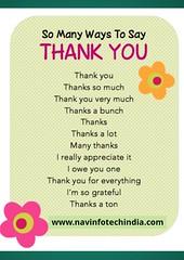 THANK YOU (navinfotech) Tags: motivational