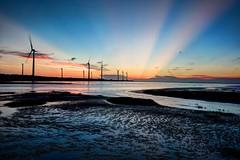 Gaomei_Waterland (binxiusu) Tags: taiwan taichung sunset sony a7rii zeiss gaomei