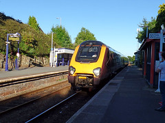 221130 Liskeard (3) (Marky7890) Tags: fgw gwr 221130 class221 supervoyager demu 1v58 liskeard railway station cornwall train