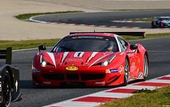 Ferrari F458 GT 2 / Jean-Paul PAGNY / FRA / Thierry  PERRIER / FRA / Jean-Bernard BOUVET / FRA / VISIOM (Renzopaso) Tags: ferrari f458 gt 2 jeanpaul pagny fra thierry perrier jeanbernard bouvet visiom v endurance series 2016 circuit barcelona