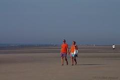 Belgian coast (Natali Antonovich) Tags: sea beach walking seaside couple walk pair lifestyle together northsea romantic relaxation seashore seasideresort romanticism belgiancoast wenduine seaboard heandshe