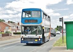 Stagecoach Stratford upon Avon Volvo Olympian 16873 (P905 RYO) (Derningtona) Tags: stratford olympian redditch studley stepentrance