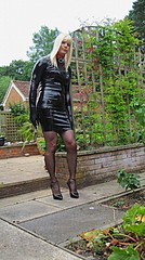 PVCPatsy   PatsyPVC PVC Fetish Slut (PVCPATSY TV) Tags: pvcfetishslut pvcfetishdress pvc latex fetish tight dress shiny outdoors transvestite shinystockings 6inchhighheels neighbourswatching