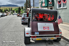 July 16 2016 - Back of Extacy trike in Red Lodge for the rally (lazy_photog) Tags: lazy photog elliott photography chief joseph highway red lodge montana wyoming beartooth pass mountains motorcycle rally poker run trike 071616beartoothandredlodge