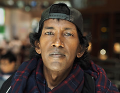 Sammy (jeffcbowen) Tags: sammy sammykrishna thehumanfamily toronto stranger